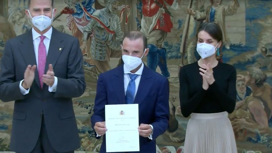 Alejandro Valverde y Ana Carrasco, galardonados en los Premios Nacionales del Deporte