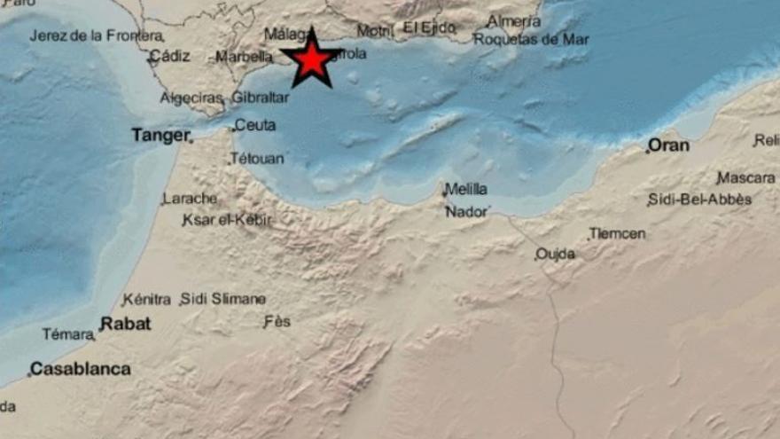 Registrado un terremoto de magnitud 3,1 en Torremolinos