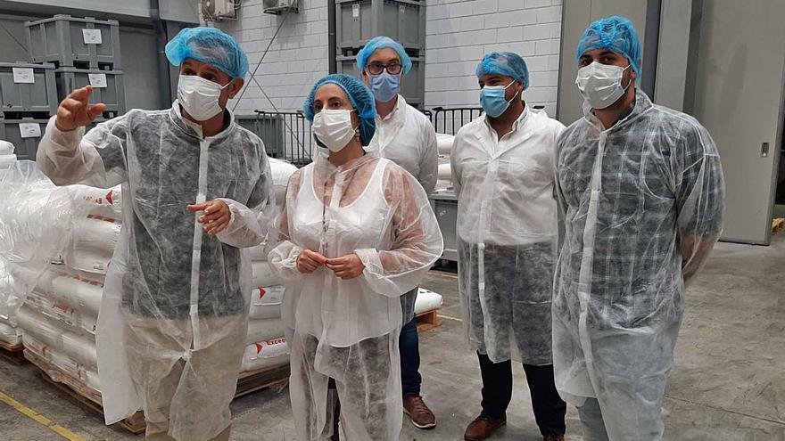 La Generalitat invierte más de 2,2 millones en el tejido industrial de la Vall d'Albaida