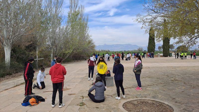 Así fue la semana solidaria del IES Ramón y Cajal de Huesca