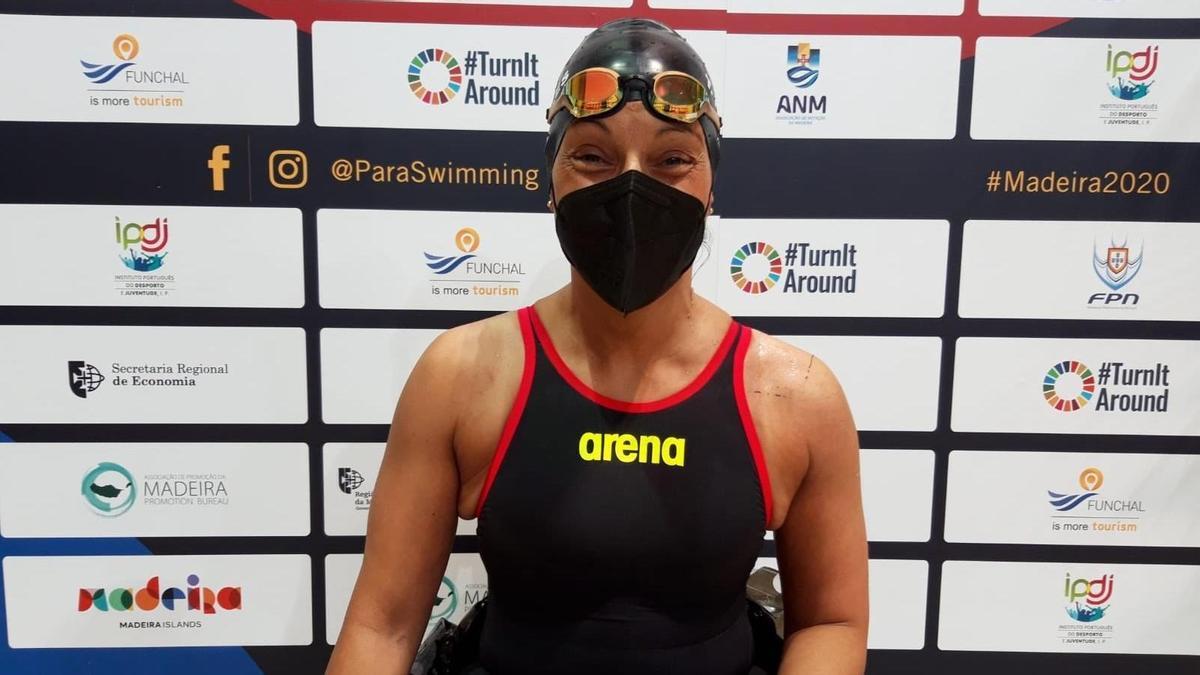 La nadadora española Teresa Perales.