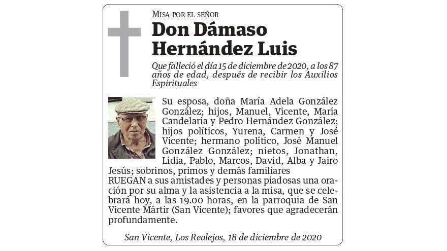 Dámaso Hernández Luis