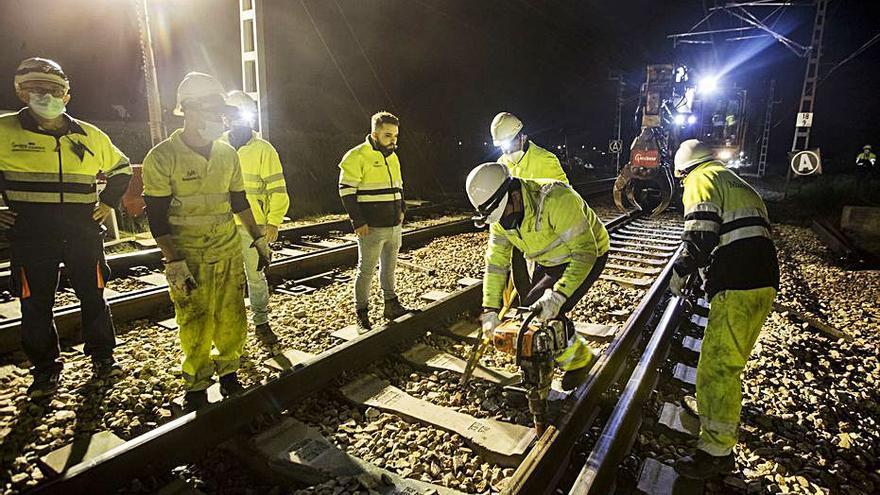 El eje Sagunt-Zaragoza del corredor mediterráneo opta a las ayudas de la UE