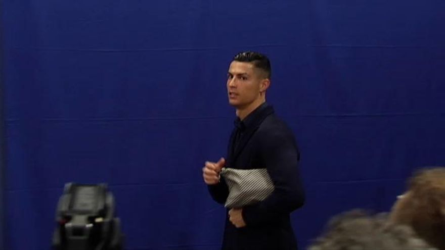 """Cristiano Ronaldo: """"Yo tengo cinco Champions y el Atlético de Madrid, cero"""""""