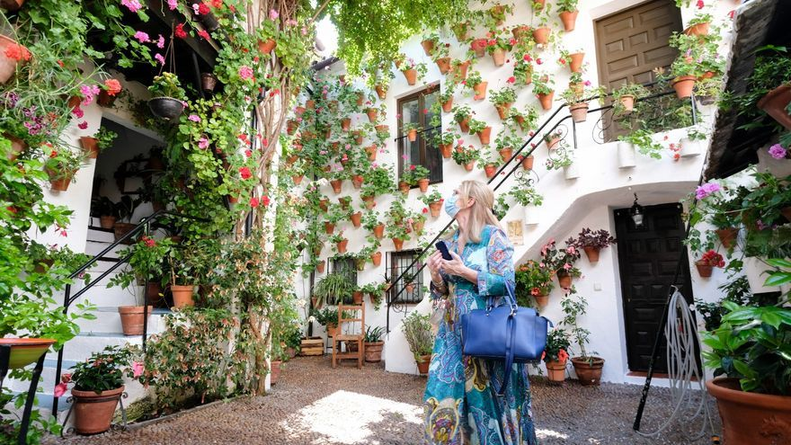 Mención de honor para el patio de Martín de Roa 7 y primer premio a Marroquíes 6 y Parras 5