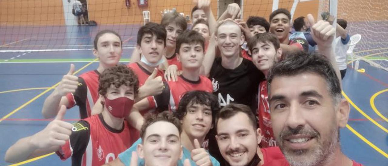 Los cadetes del Xàtiva Voleibol en el Campeonato de España | CV XÀTIVA