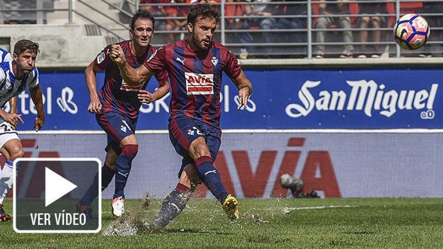 Pedro León lanza un penalti en Ipurua y lo manda fuera del campo