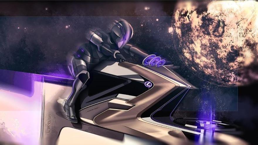 Lexus diseña un vehículo capaz de recorrer la Luna a 500 km/h, el Zero Gravity