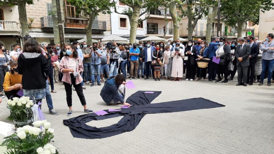 Minutos de silencio en toda Mallorca en repulsa del doble crimen de sa Pobla