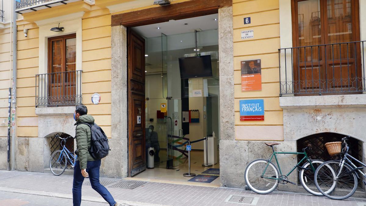 Instituto Francés de València, en la calle Moro Zeit.