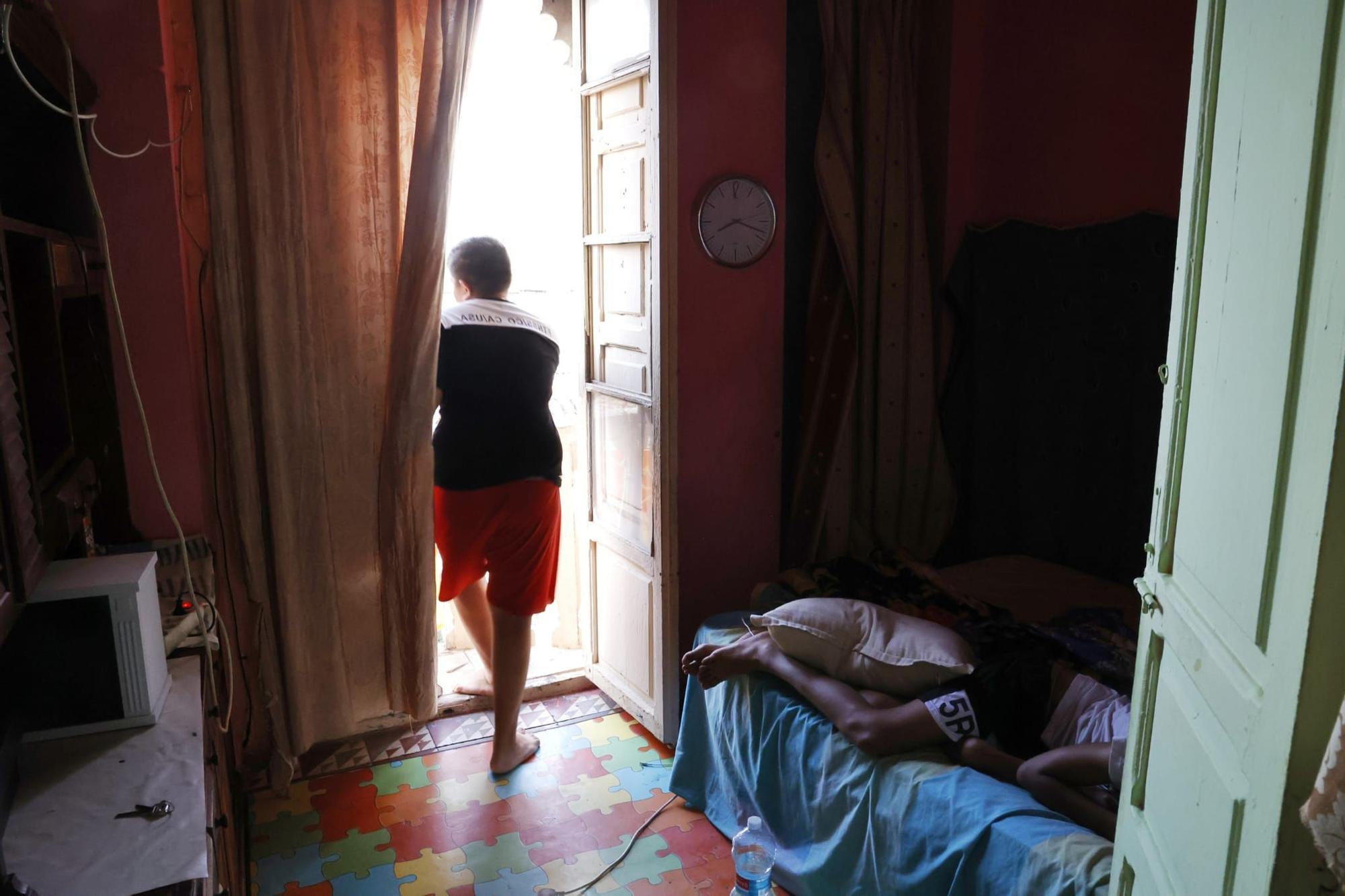 Una familia, desahuciada en València