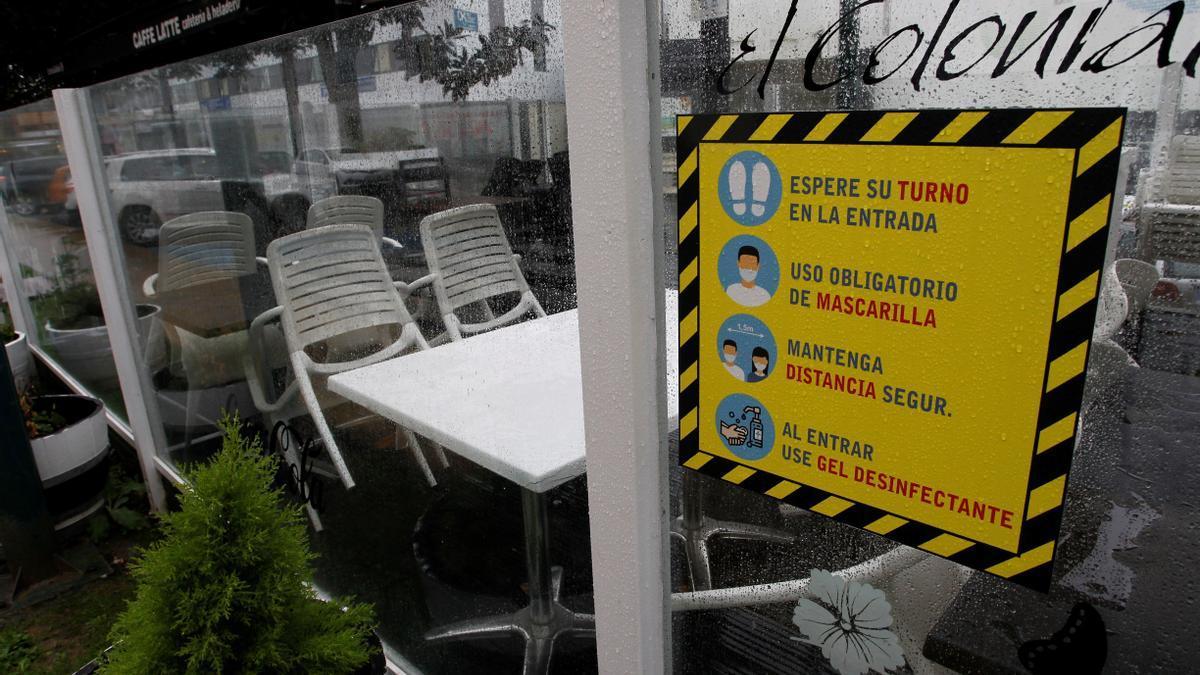 El cierre perimetral de Ferrol, Narón, Fene y Neda ha puesto en alerta al sector hostelero
