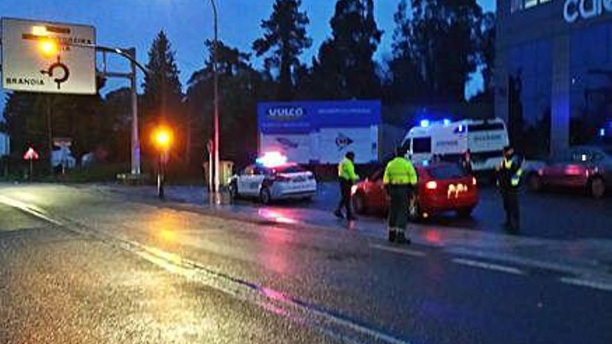 Multados 134 conductores por alcohol o drogas en el Entroido en A Coruña