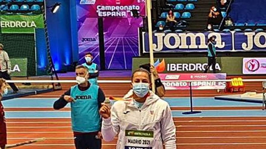 Úrsula Ruiz y Sergio López  suben al podio en el Nacional