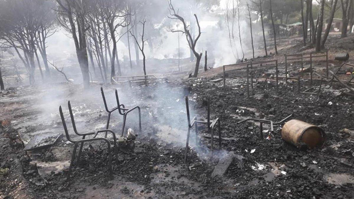 Tercer incendio en una semana en los asentamientos de inmigrantes de Huelva