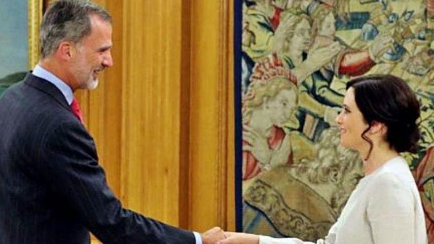 El polémico comentario de Díaz Ayuso sobre Juan Carlos I