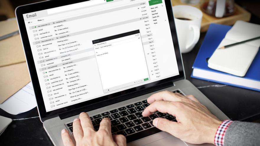 Descubren una campaña de 'malware' por email que suplanta a Trabajo