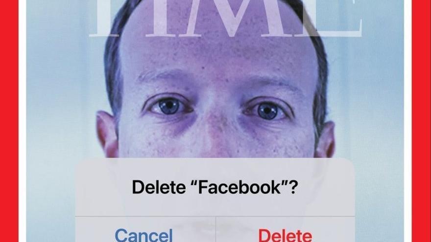 La portada de 'Time': ¿borrar Facebook?