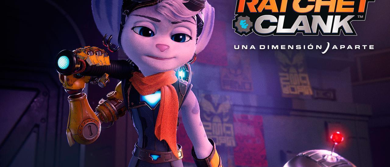 'Ratchet & Clank: Rift Apart' muestra la jugabilidad con Rivet en su nuevo tráiler