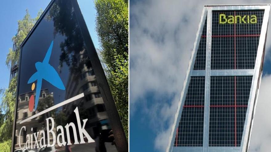 La fusión Bankia-Caixabank podría chocar con el freno a las prejubilaciones