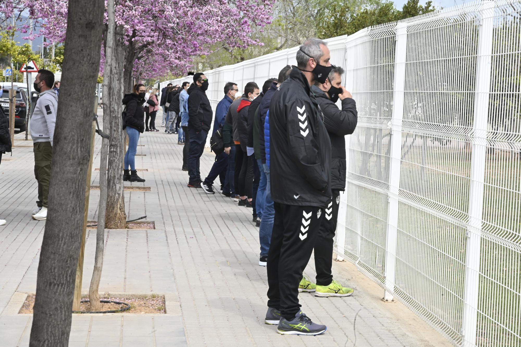 Así ha vuelto el fútbol base en Castellón