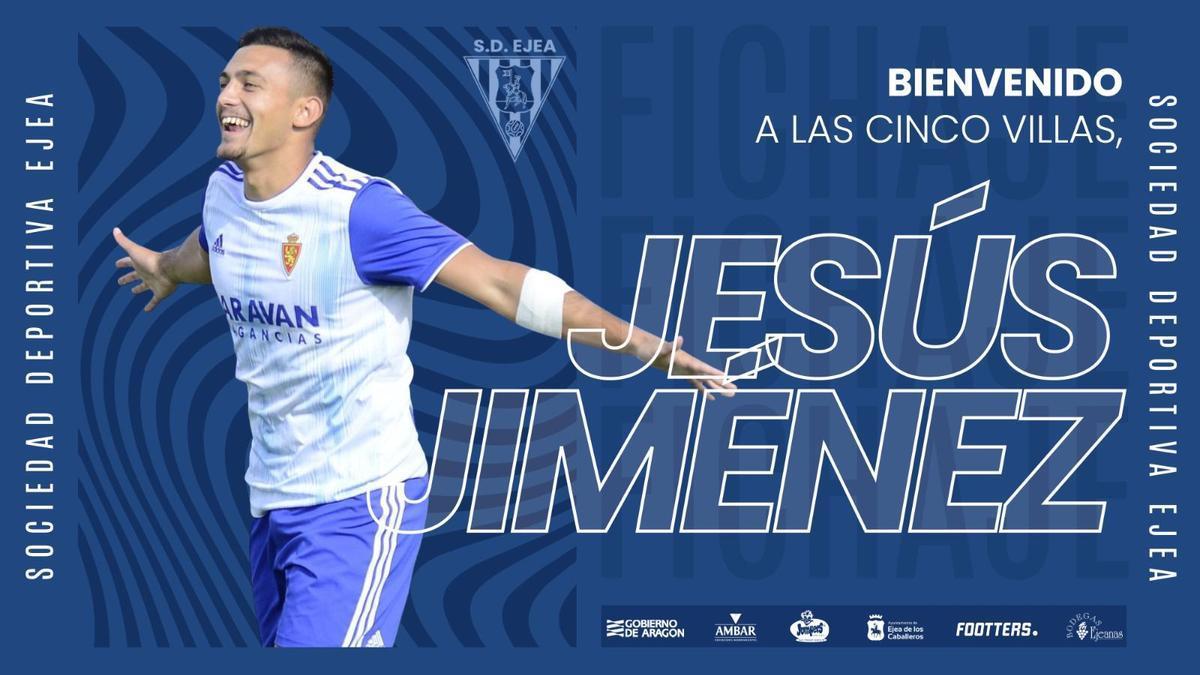 Cartel de presentación de Jesús Jiménez