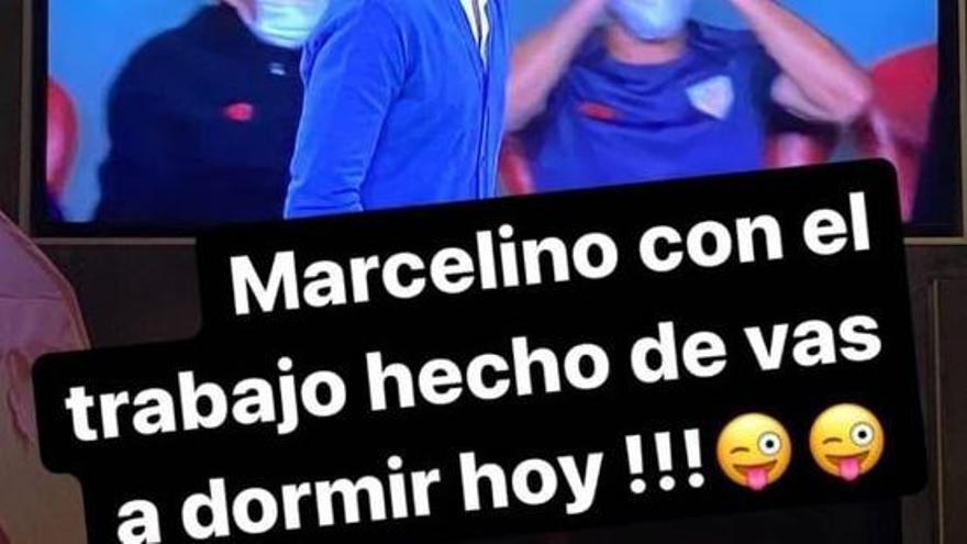 """El """"recado"""" de Amaya a Marcelino y al Sporting"""