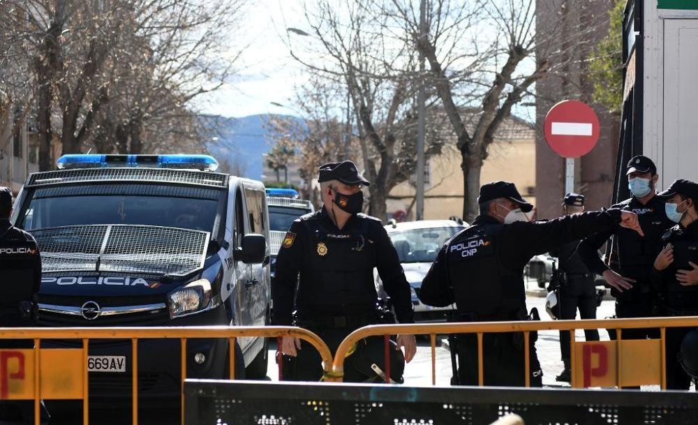 Redada antidroga en La Paz