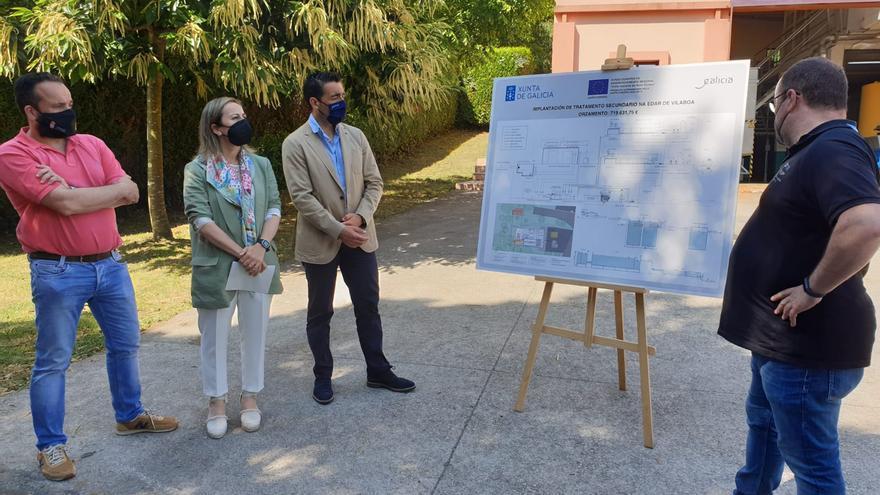 La depuradora de Vilaboa se mejorará con tratamiento biológico