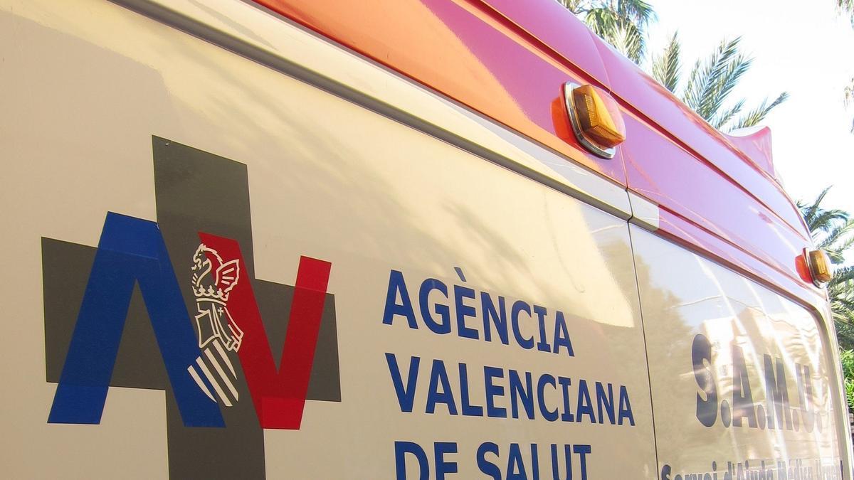 Un ciclista resulta herido tras colisionar con un coche en L'Ollería