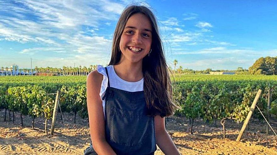 Matilde Blanco, matrícula de honor en Primaria