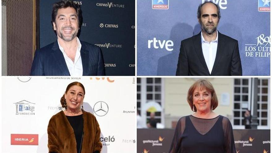Actores y actrices con más Goyas