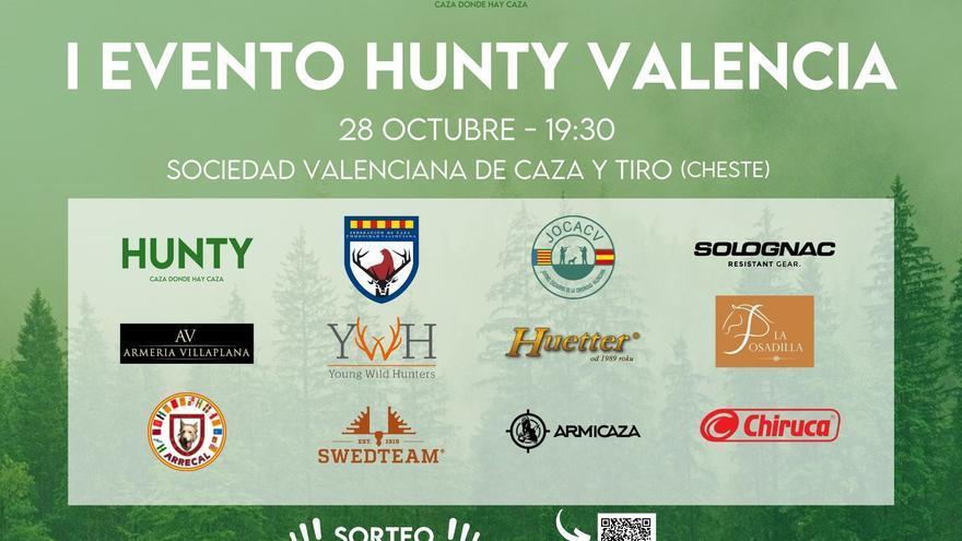 La Federación de Caza de la Comunidad Valenciana participa en el I Evento HUNTY