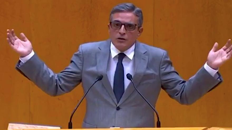 """José Vicente Marí Bosó a la ministra de Hacienda: """"Con usted a Balears siempre le sale a pagar"""""""