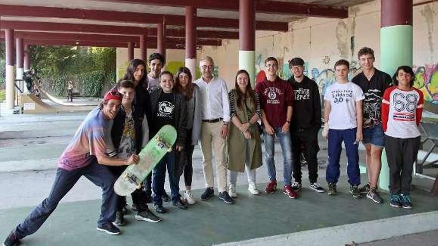 La Xunta resalta el trabajo de La Estación como promotor de la cultura urbana