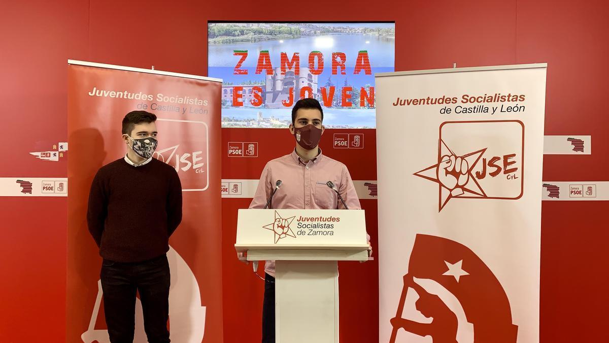 Los responsables de Juventudes Socialistas de Zamora