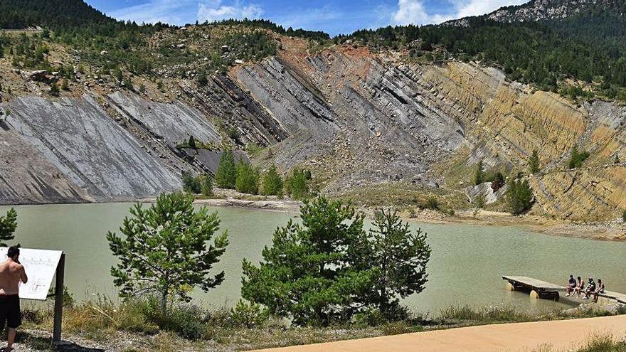 La restauració de les mines a cel obert de Fumanya va oblidar un estudi d'estabilitat
