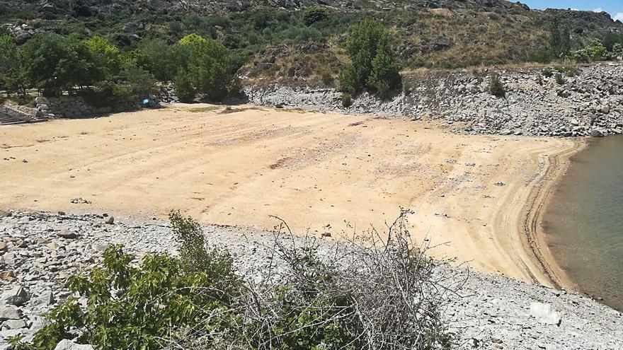 Muelas ofrece gratis la gestión de la playa fluvial de Ricobayo