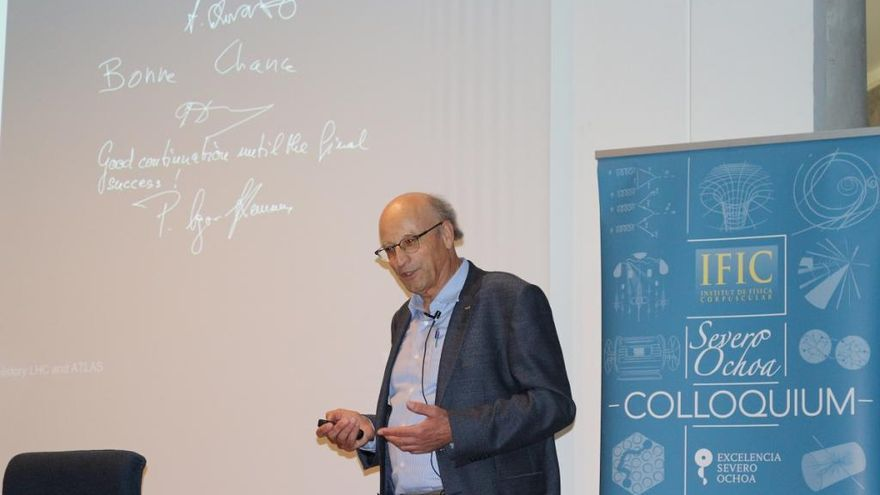 """""""Atlas solo ha analizado el 4 % de los datos del acelerador del CERN"""""""