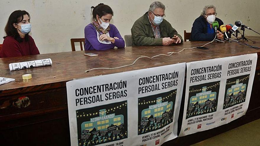 Una concentración iluminará mañana la Praza de España por la sanidad pública