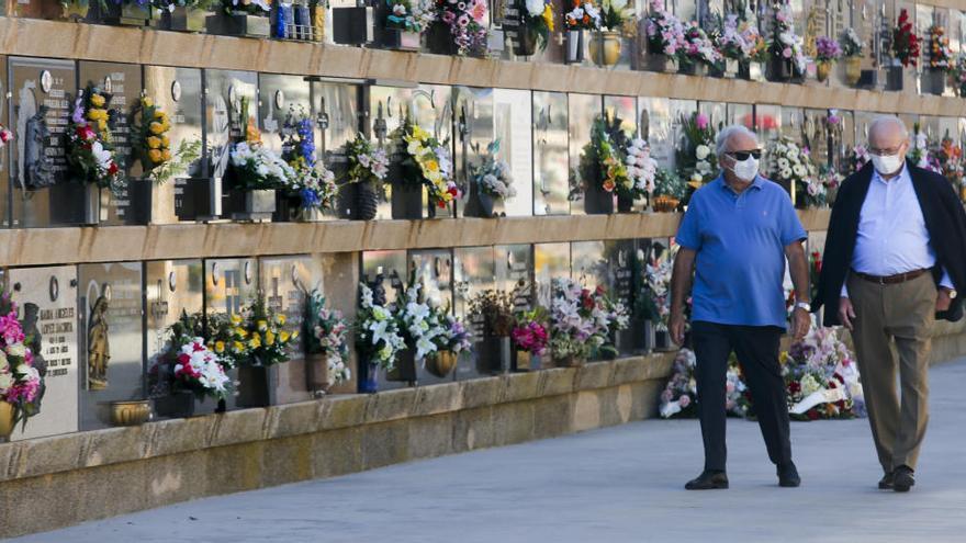 España registra hasta el 2 de noviembre 66.852 muertes más que en 2019