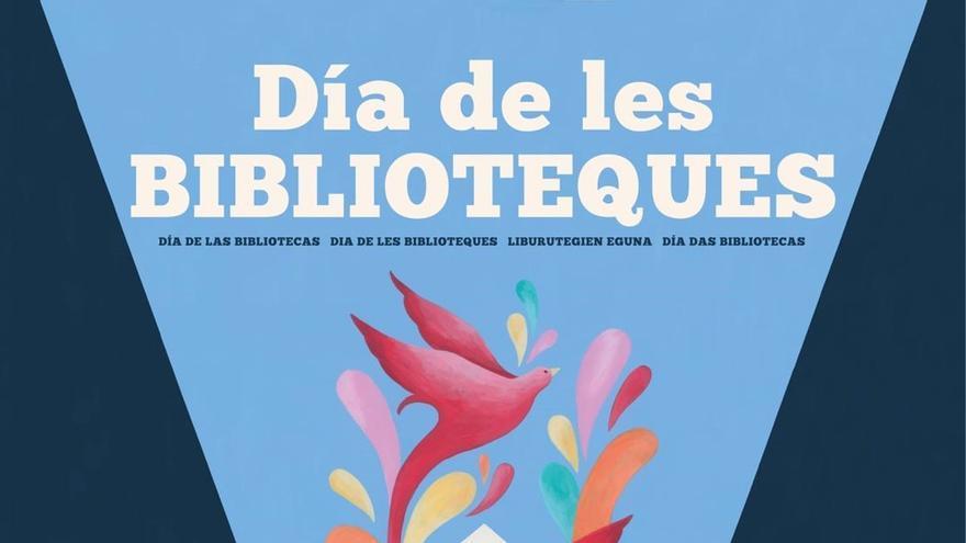 El Ministeriu publica n'asturianu'l cartel del Día de les Biblioteques