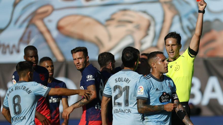 El Atlético logra un sufrido triunfo en Vigo