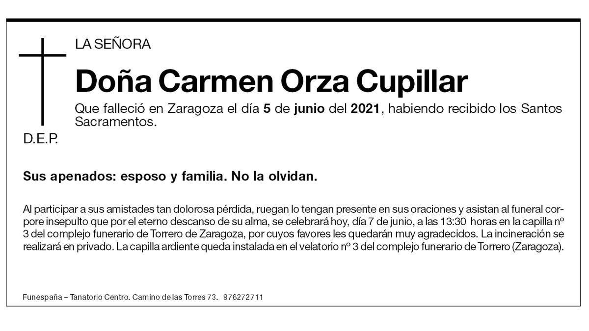 Carmen Orza Cupillar