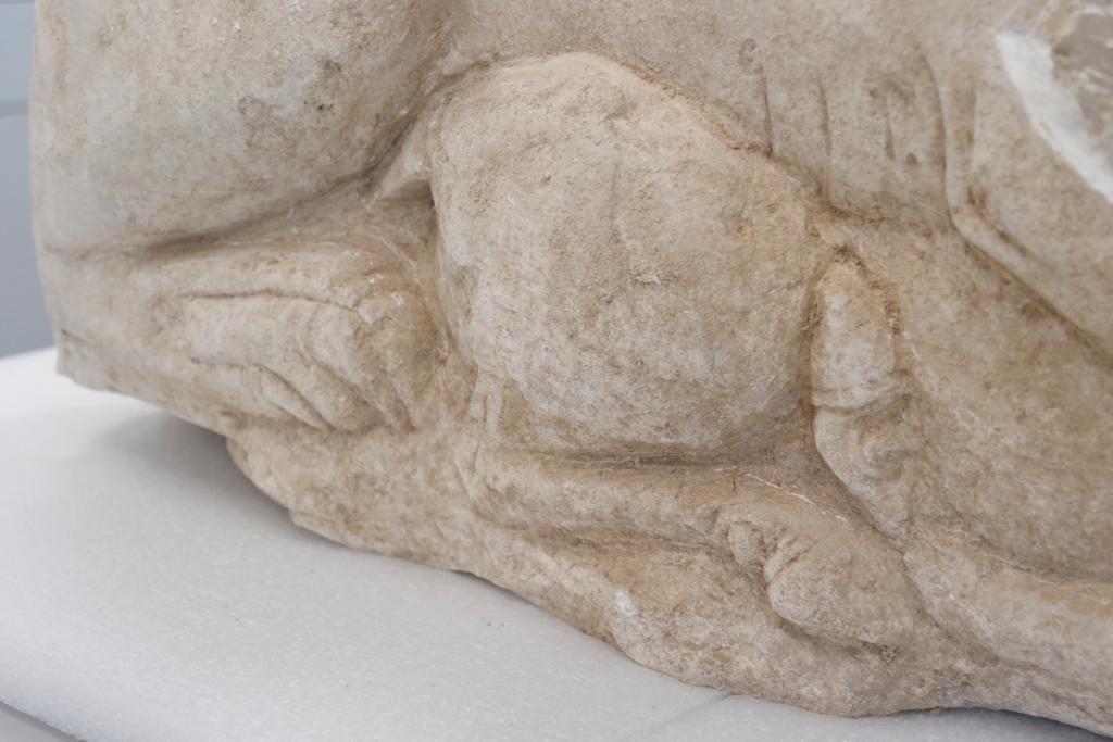 La leona íbera de La Rambla, a estudio en el Arqueológico de Córdoba