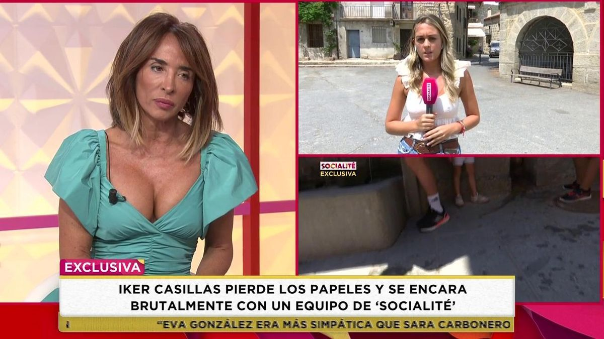 """Iker Casillas se enzarza con un equipo de Socialité: """"¿Tú cuántos años tienes?"""""""