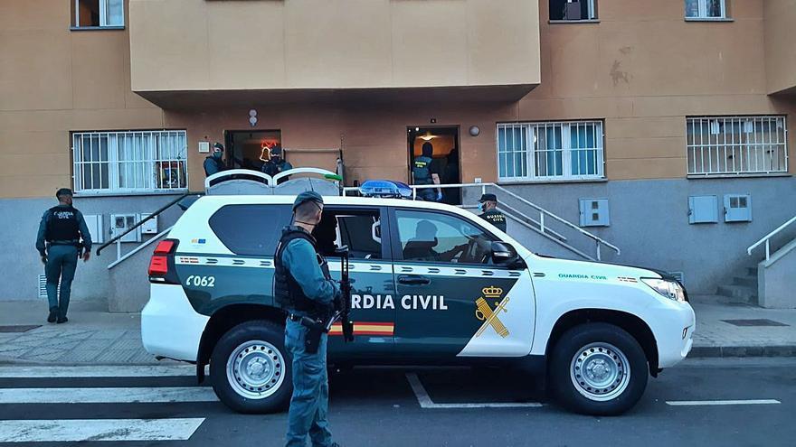 Así desarticuló la Guardia Civil en Santa Lucía una banda de tráfico de drogas y blanqueo