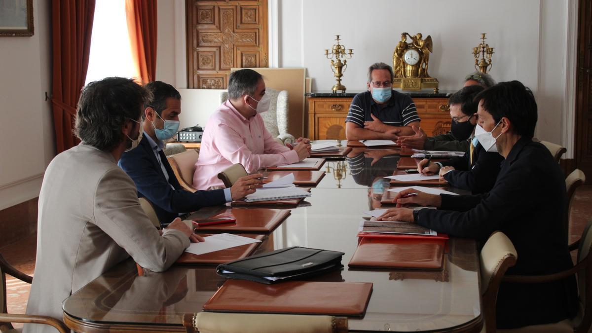 Reunión del Ayuntamiento de Zamora y Somacyl.