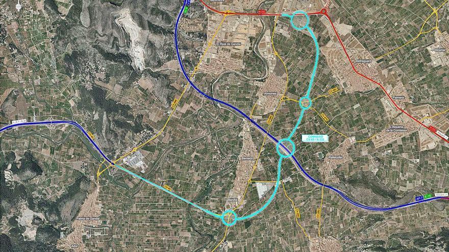 El Consell encarga el proyecto de la autovía de l'Olleria y sus conexiones en la Safor