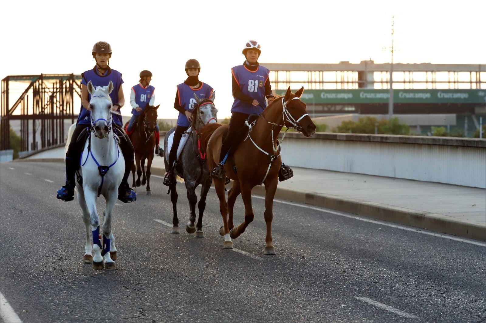 Primer Raid Córdoba para caballos árabes